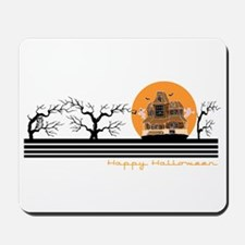 Happy Halloween (Haunted Hous Mousepad