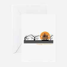 Happy Halloween (Haunted Hous Greeting Cards (Pack