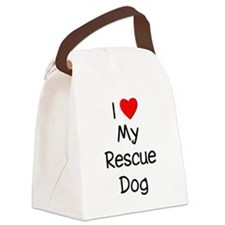 lovemyrescuedog.png Canvas Lunch Bag