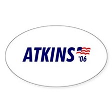 Atkins 06 Oval Decal