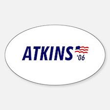 Atkins 06 Oval Decal
