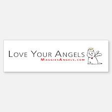 Maggie's Angels Dogs Bumper Bumper Bumper Sticker