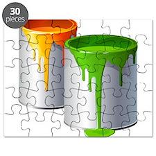 Paint Cans Puzzle