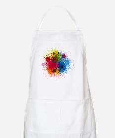 Abstract Paint Apron