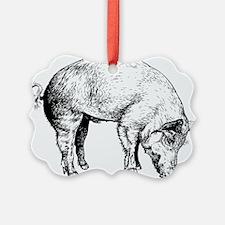 Piggy Ornament