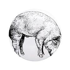 """Piggy 3.5"""" Button"""