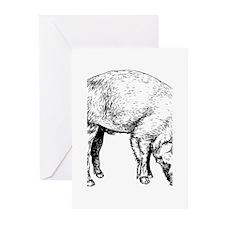 Piggy Greeting Cards (Pk of 20)