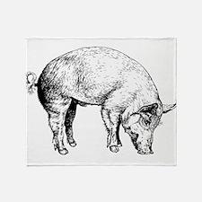 Piggy Throw Blanket