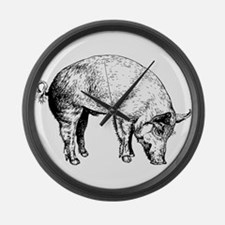 Piggy Large Wall Clock
