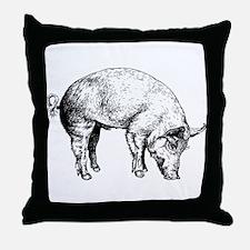 Piggy Throw Pillow