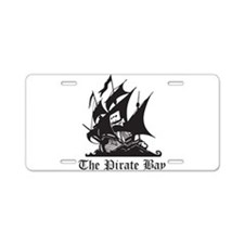 Pirate Bay Aluminum License Plate