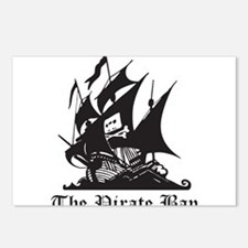 Pirate Bay Postcards (Package of 8)