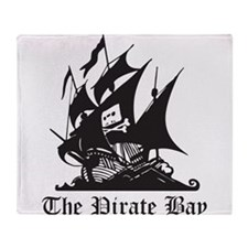 Pirate Bay Throw Blanket