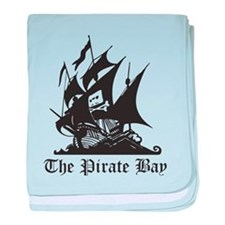 Pirate Bay baby blanket