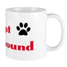 Adopt a Greyhound Small Mug