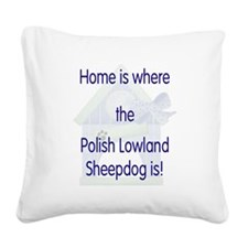 homepolishlow1.png Square Canvas Pillow