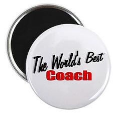 """The World's Best Coach"" Magnet"