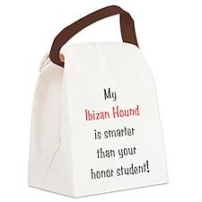 ibizanhoundsmarter10.png Canvas Lunch Bag