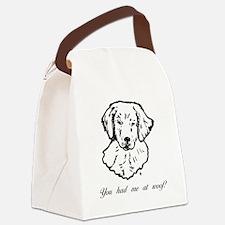 hadmegoldenpup.png Canvas Lunch Bag