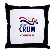 Crum 06 Throw Pillow