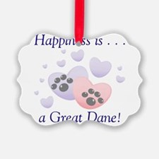 happinessgreatdane.png Ornament