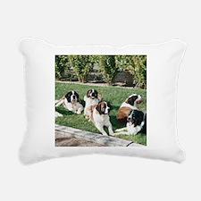 stbernardtile.png Rectangular Canvas Pillow