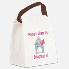 bolognesehome2.png Canvas Lunch Bag