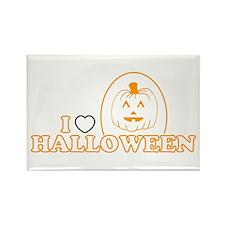 I Heart Halloween Rectangle Magnet