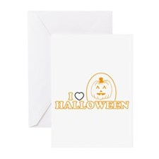 I Heart Halloween Greeting Cards (Pk of 10)