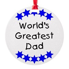 greatestdadblue.png Ornament