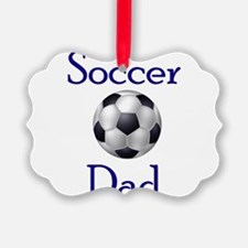 Cute Soccer dad Ornament