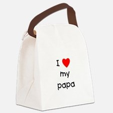 lovemypapa.png Canvas Lunch Bag