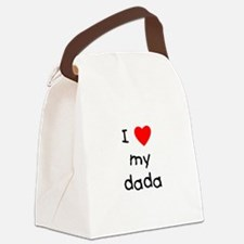 lovemydada.png Canvas Lunch Bag