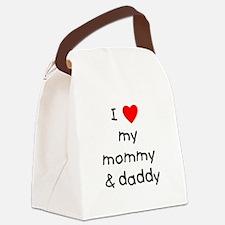 lovemymommyanddaddy.png Canvas Lunch Bag