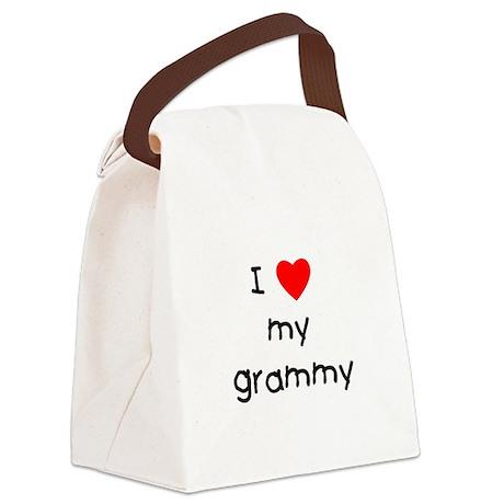 I love my grammy Canvas Lunch Bag