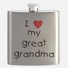 I love my great grandma Flask