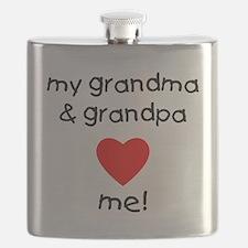 My grandma & grandpa love me Flask