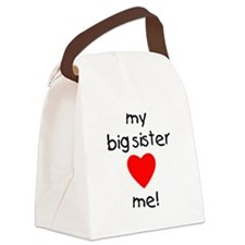 bigsisterlovesme.png Canvas Lunch Bag
