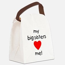 bigsistersloveme.png Canvas Lunch Bag