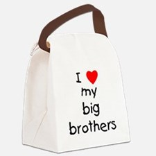lovemybigbrothers.png Canvas Lunch Bag