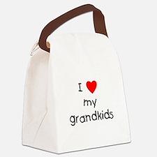 lovemygrandkids.png Canvas Lunch Bag