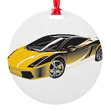 Sports Car Ornament