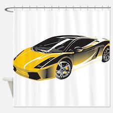 Sports Car Shower Curtain