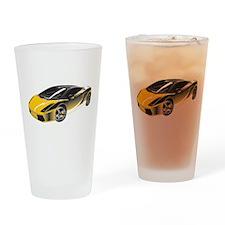 Sports Car Drinking Glass