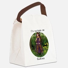 rathergaming.png Canvas Lunch Bag