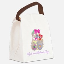 firstmd1.png Canvas Lunch Bag