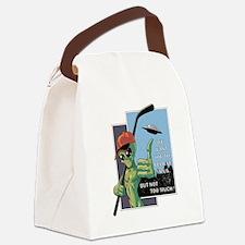 Unique Ufos Canvas Lunch Bag