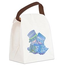 xmas16.png Canvas Lunch Bag