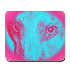 Blue Zoe Mousepad
