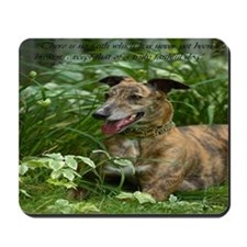 Red Brindle Mousepad